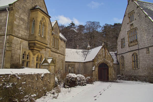 Retreat Centre Main Entrance